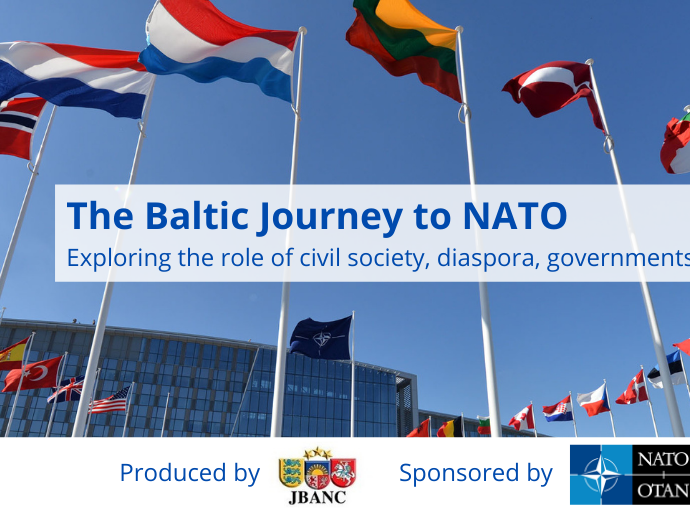 The Baltic Journey to NATO